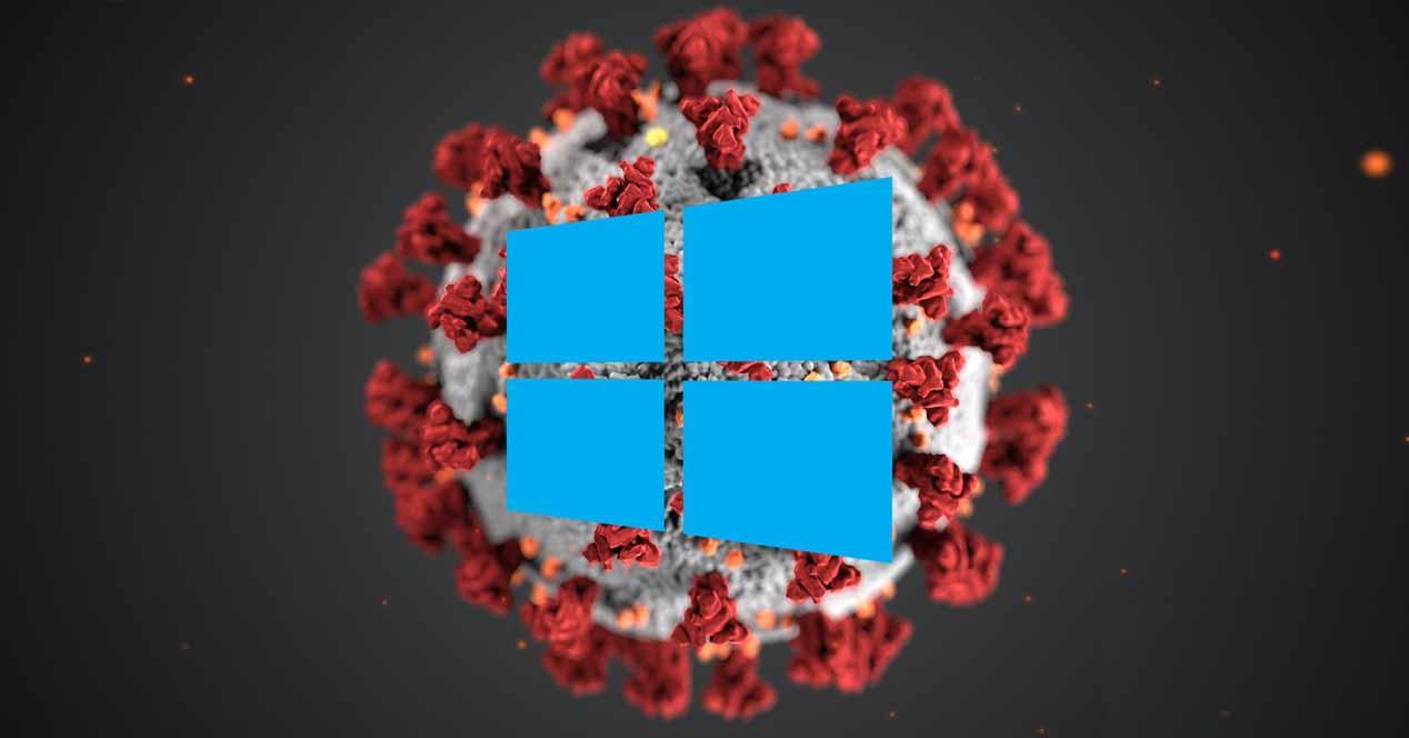 windows 10 coronavirus