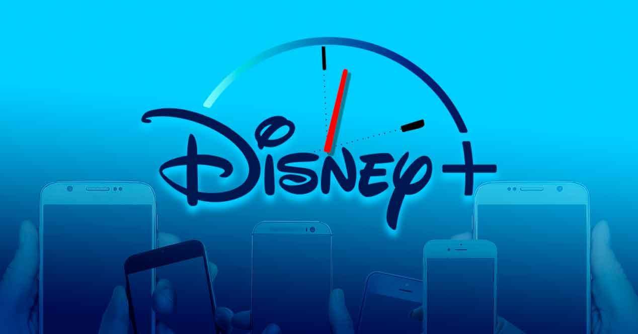 Consumo de Disney+