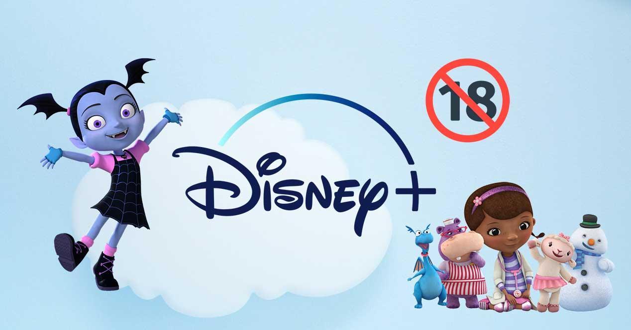 Control parental de Disney Plus