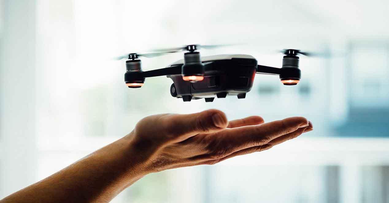 Drones para volar en interior