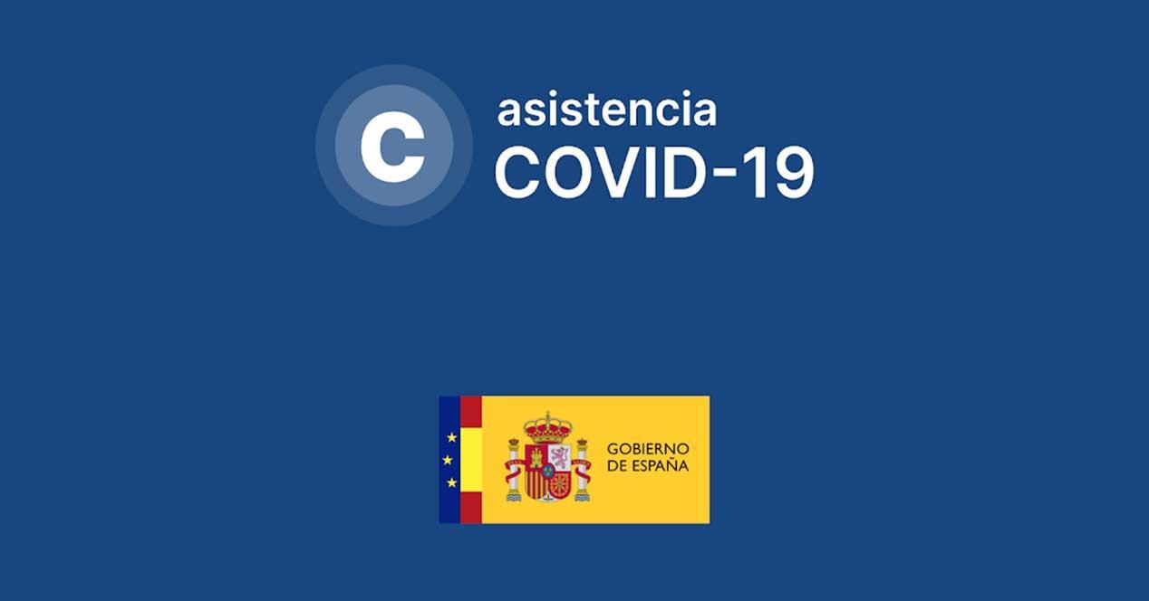 asistencia covid19 app españa
