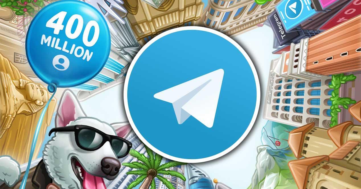 telegram 400 millones