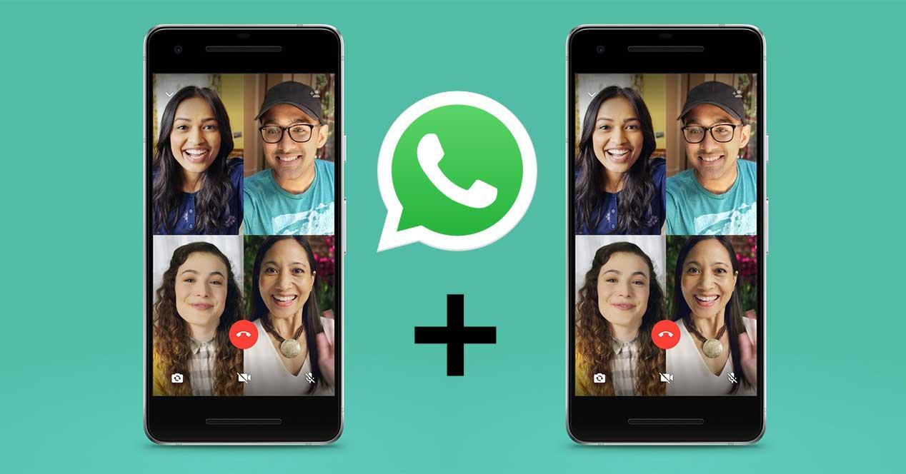 WhatsApp aumenta a 8 los participantes en llamadas de audio y vídeo
