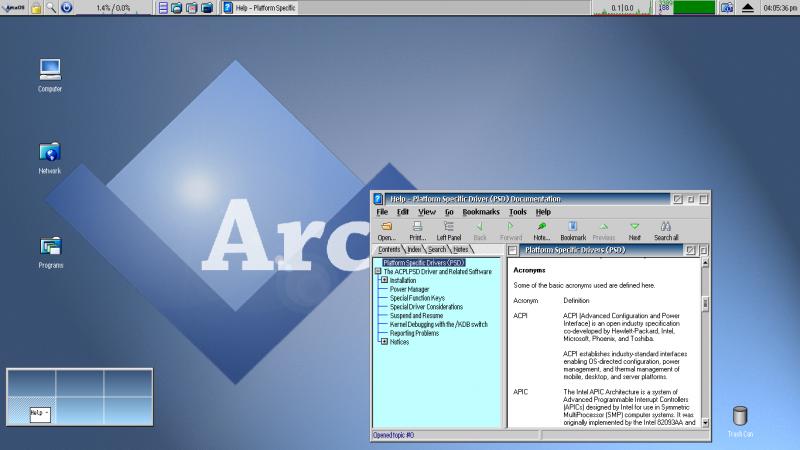 ArcaOS - Alternativas a Windows