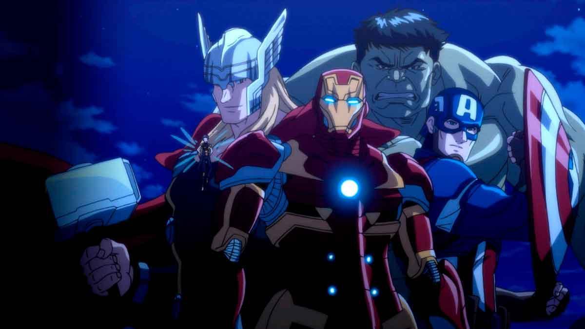 Los vengadores del futuro de Marvel (2)