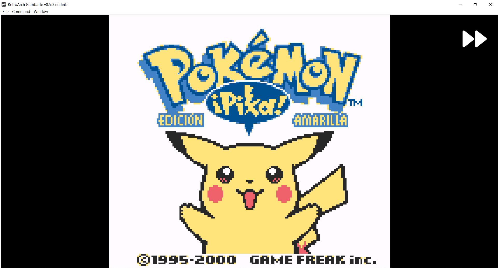Retroarch Pikachu