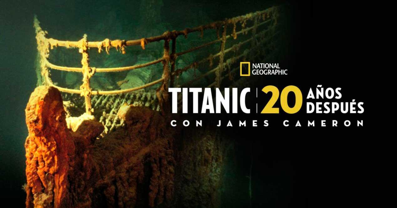 Titanic - documentales en Disney+