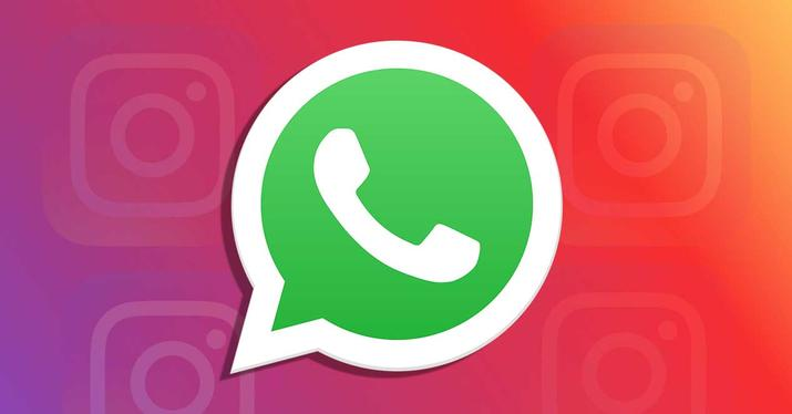 WhatsApp - Instagram Stories