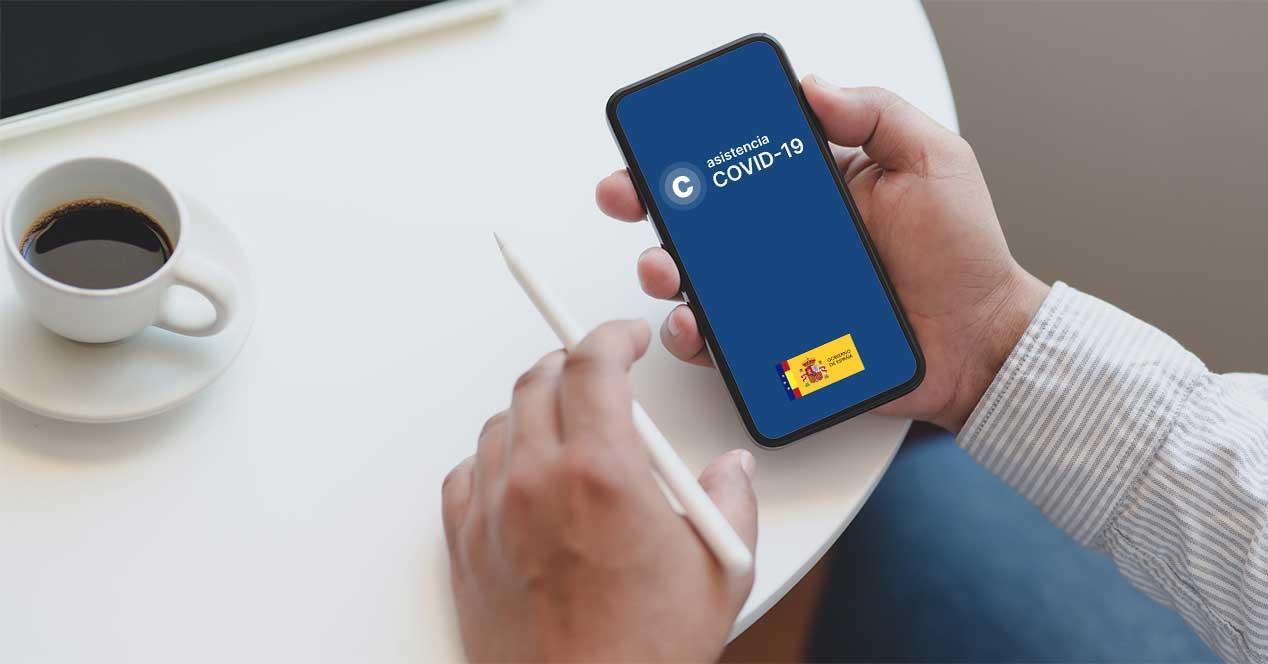 asistencia covid-19 app