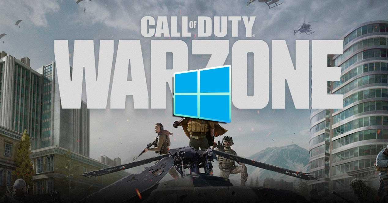 call of duty warzone windows 10