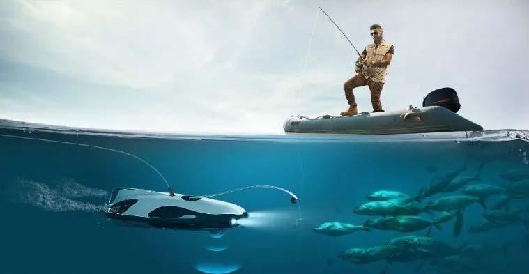 drones submarinos