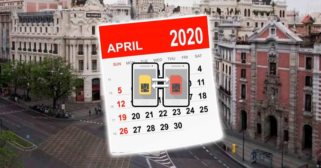 portabilidad abril 2020