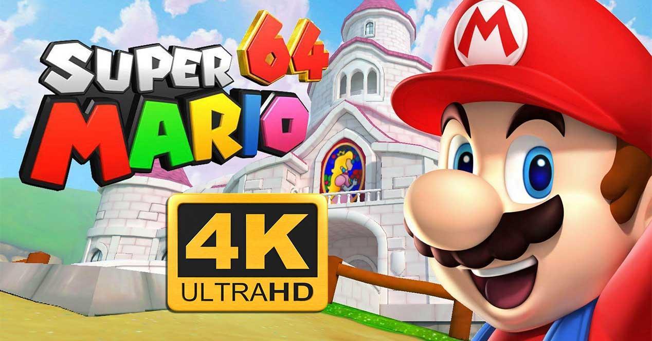 super mario 64 4k