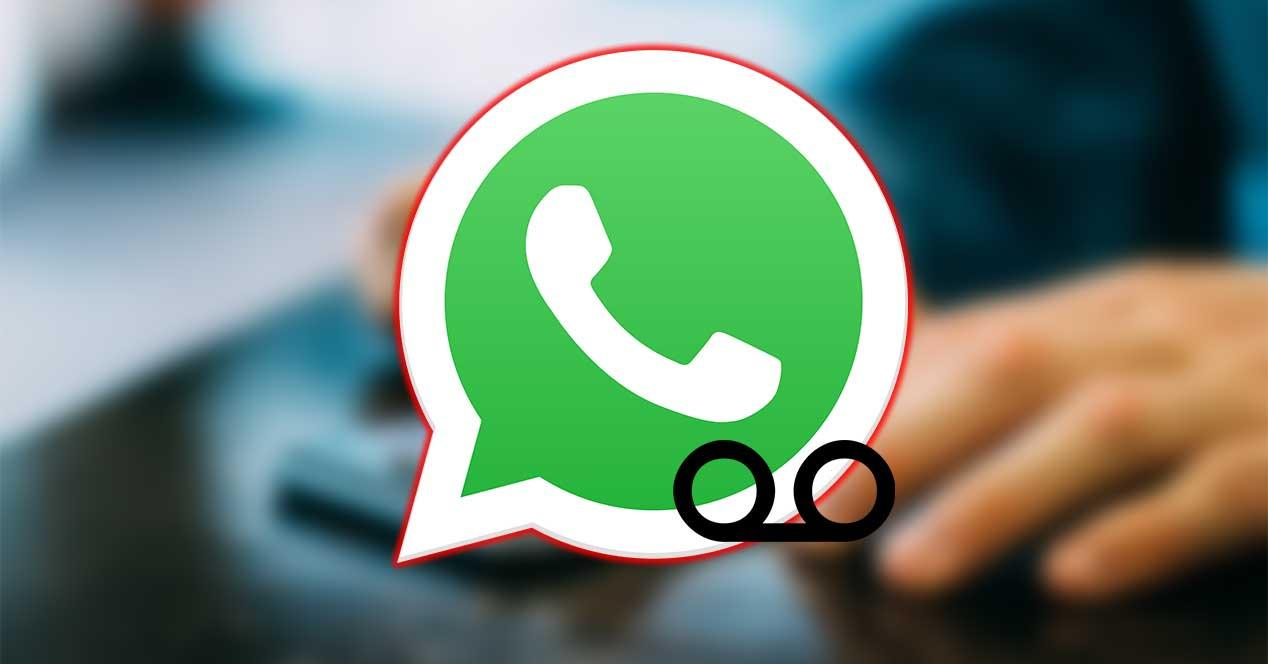 whatsapp buzon de voz
