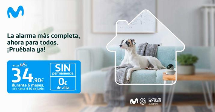 Alarma Prosegur Movistar