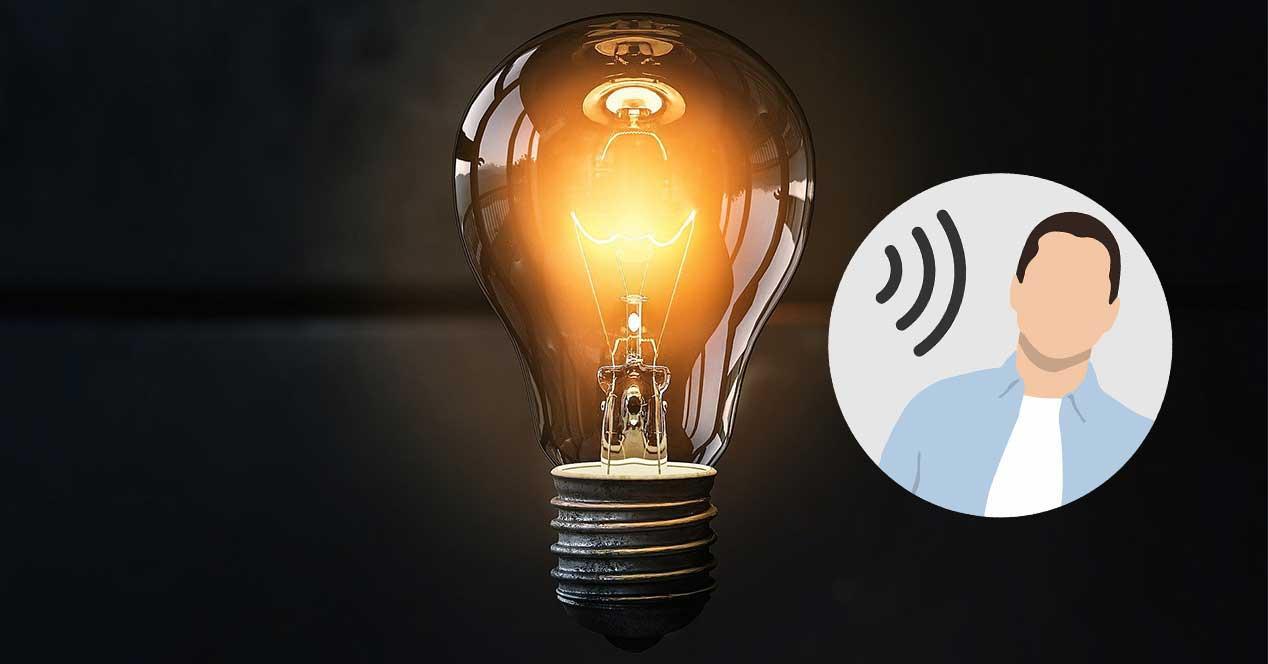bombilla lamphone escuchar conversaciones