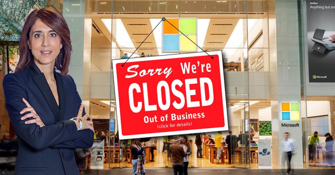 El COVID da la excusa a Microsoft para esconder el fracaso de sus tiendas