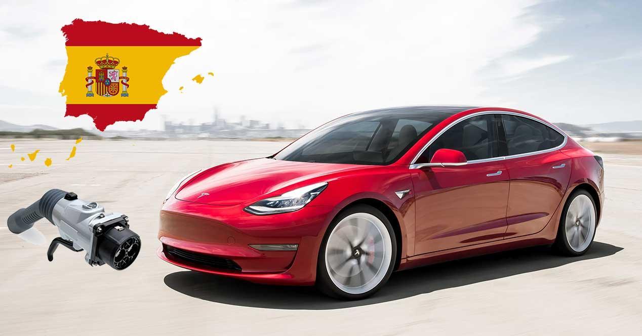 españa mapa puntos de carga coches electricos