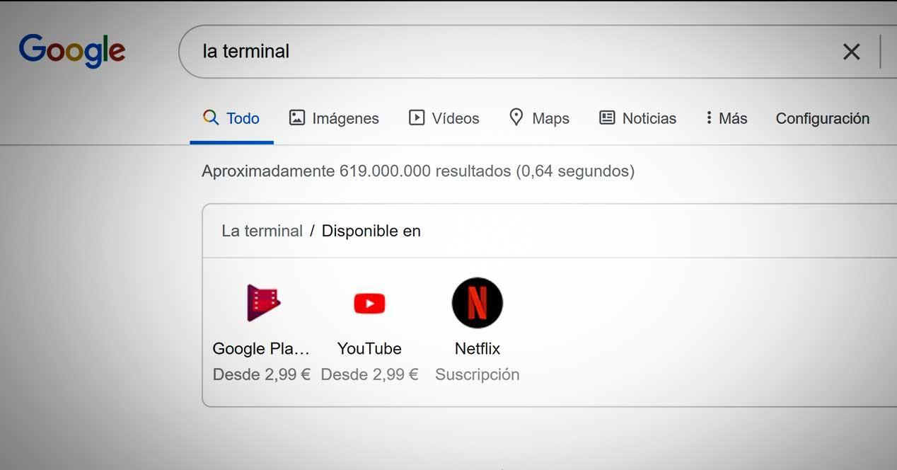 google netflix resultados