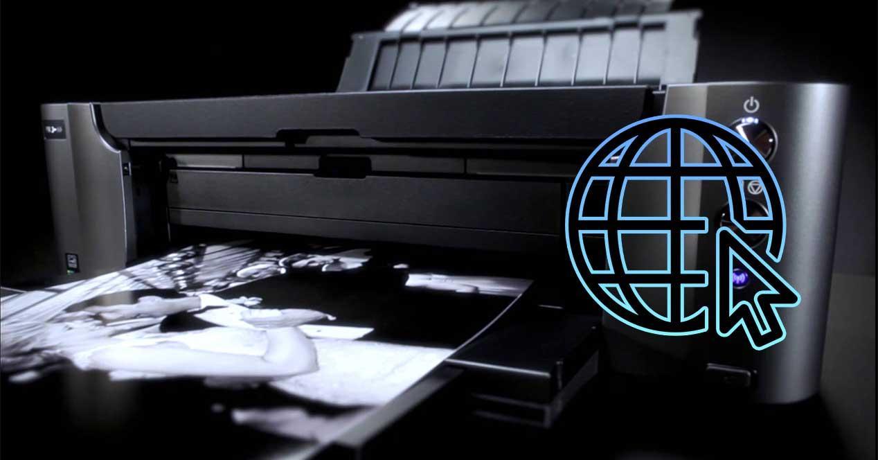 impresora internet