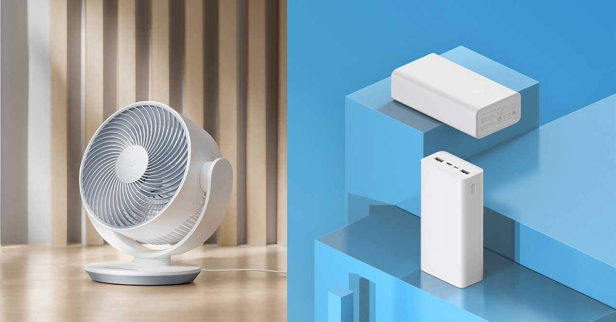 xiaomi ventilador bateria