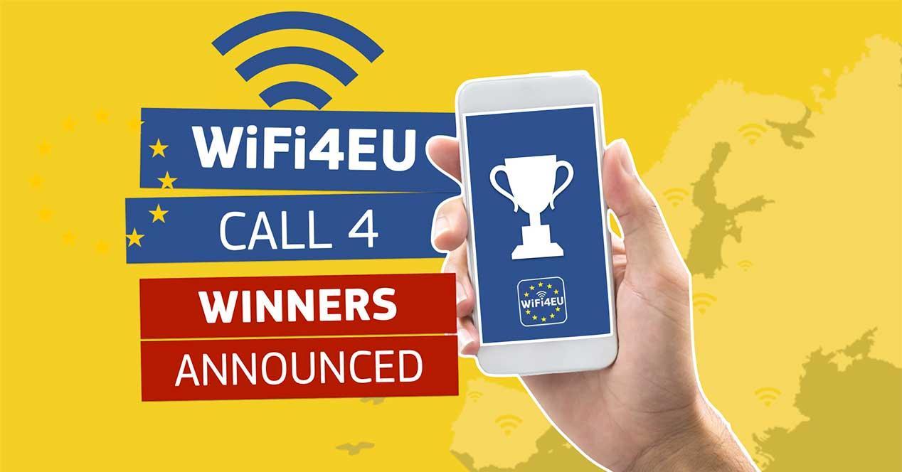 wifi4eu ganadores wifi gratis españa