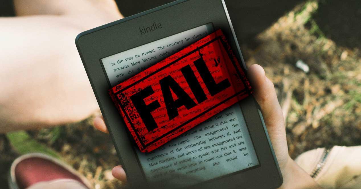 Error Kindle