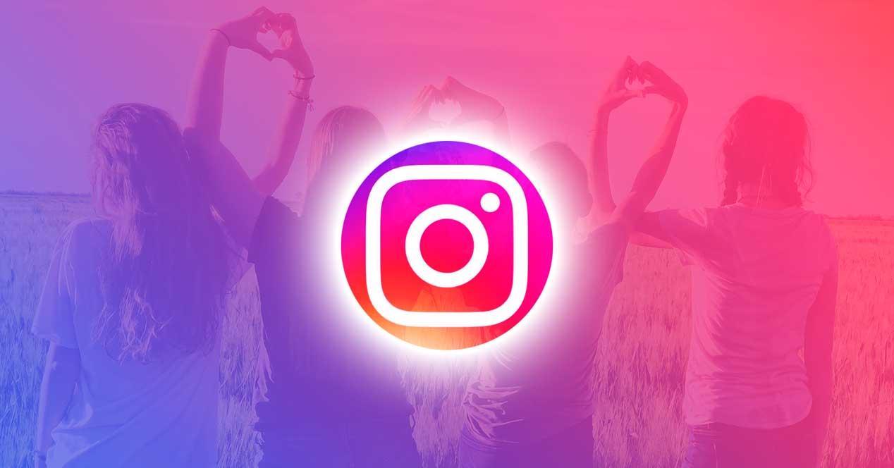 Mejores amigos en Instagram