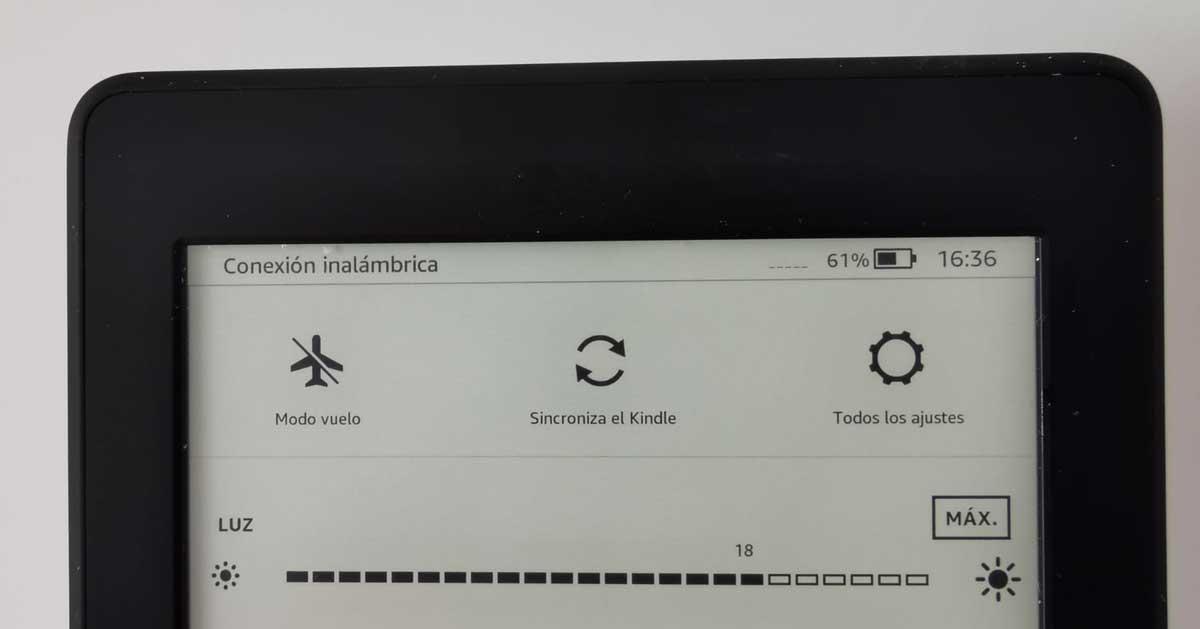 Sincronizar Kindle