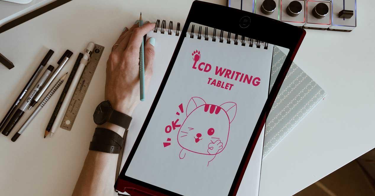 Tablet de escritura LCD