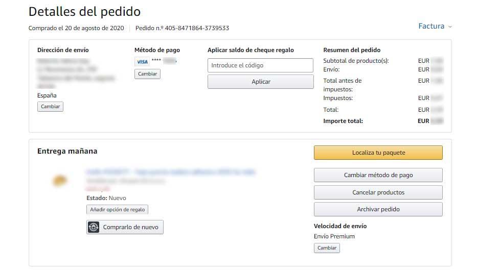 Amazon Lieferadresse ändern Nach Bestellung