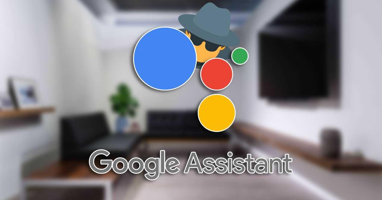 asistente de google espia