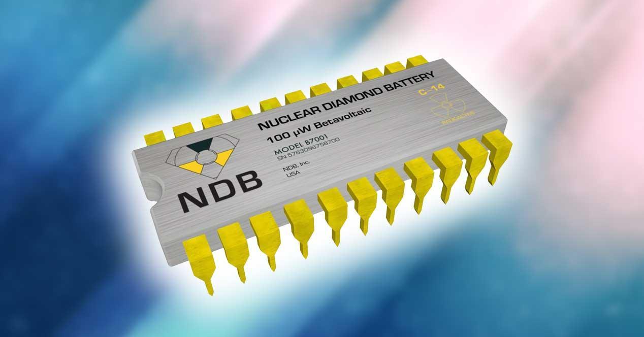 bateria nanodiamante nuclear