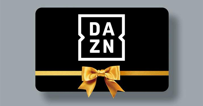 dazn tarjeta regalo gift card