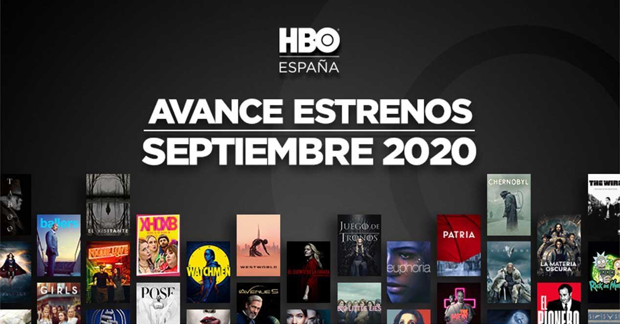 hbo estrenos septiembre 2020