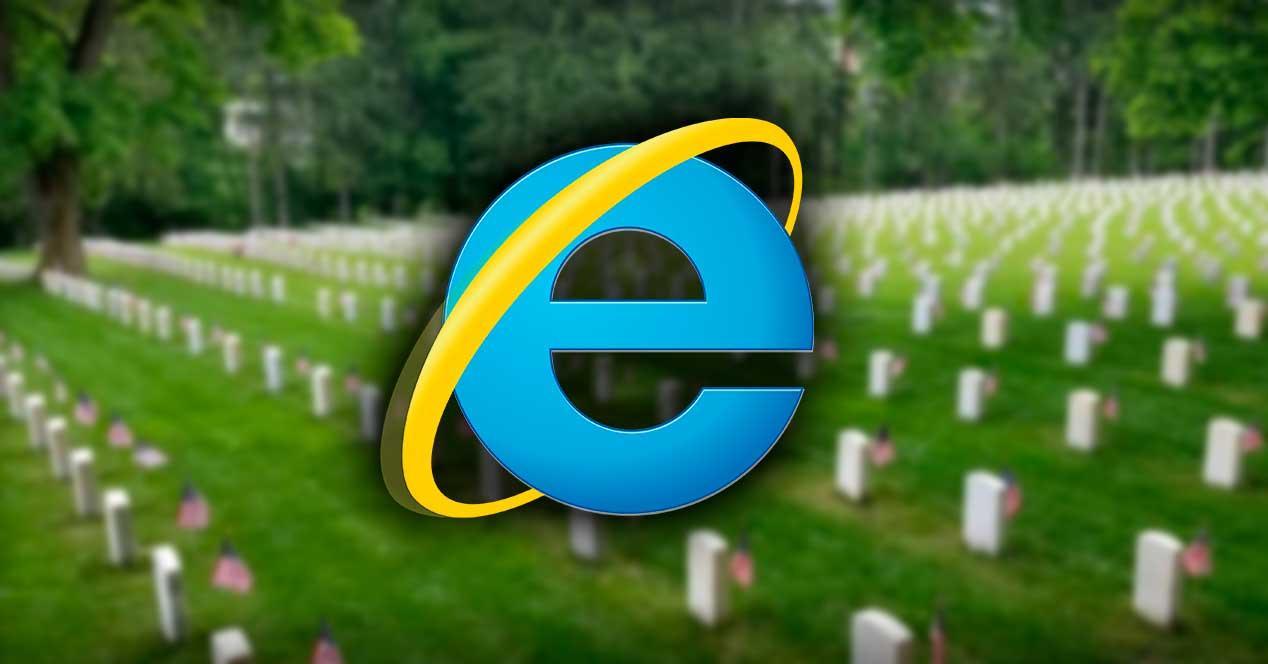 internet explorer muerte