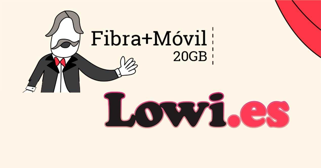 La nueva tarifa convergente de Lowi incluye fibra a 300 Mbps