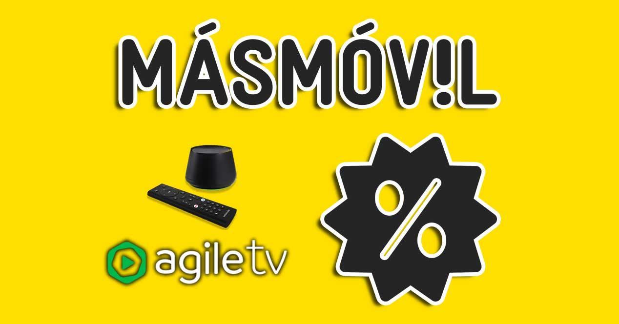 masmovil rebajas agile tv