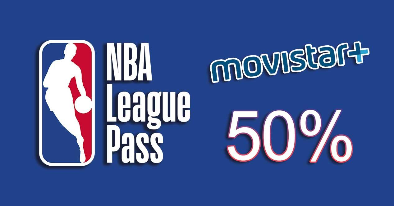 movistar nba league pass 50% descuento