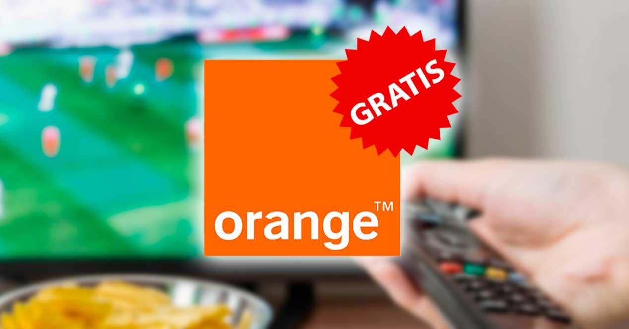 orange futbol gratis