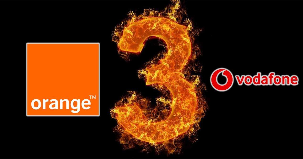 vodafone orange tres precios