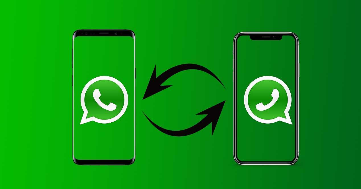whatsapp ios android sync