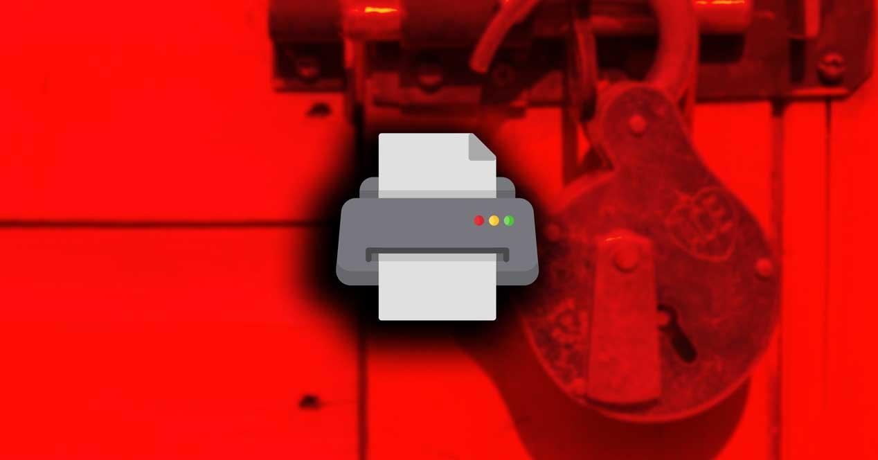 Imprimir PDF bloqueado