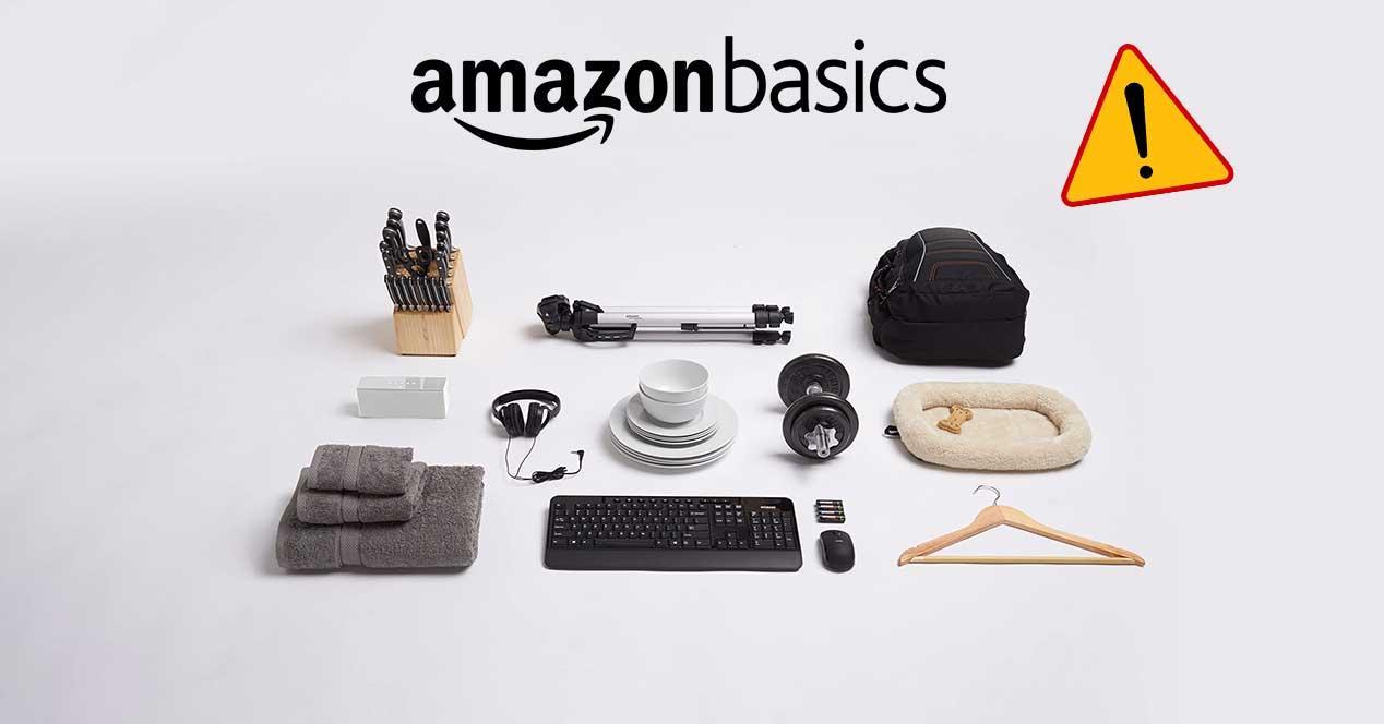 amazon basics peligro