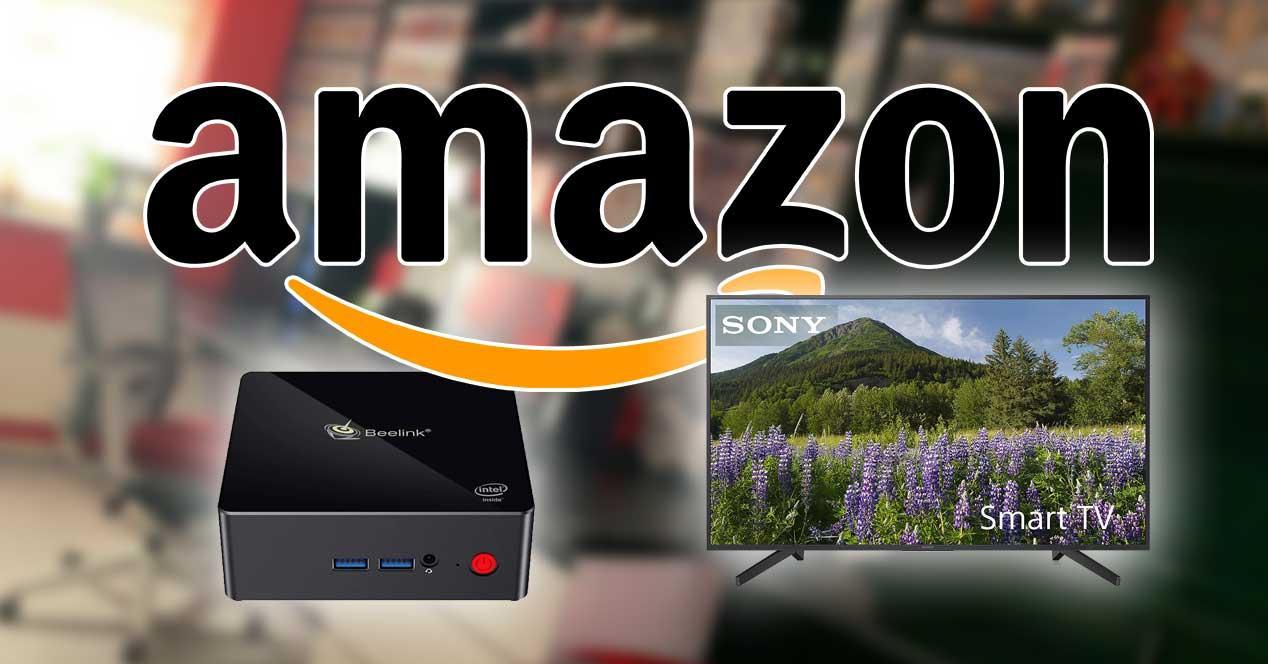 amazon mini ordenador smart tv ofertas