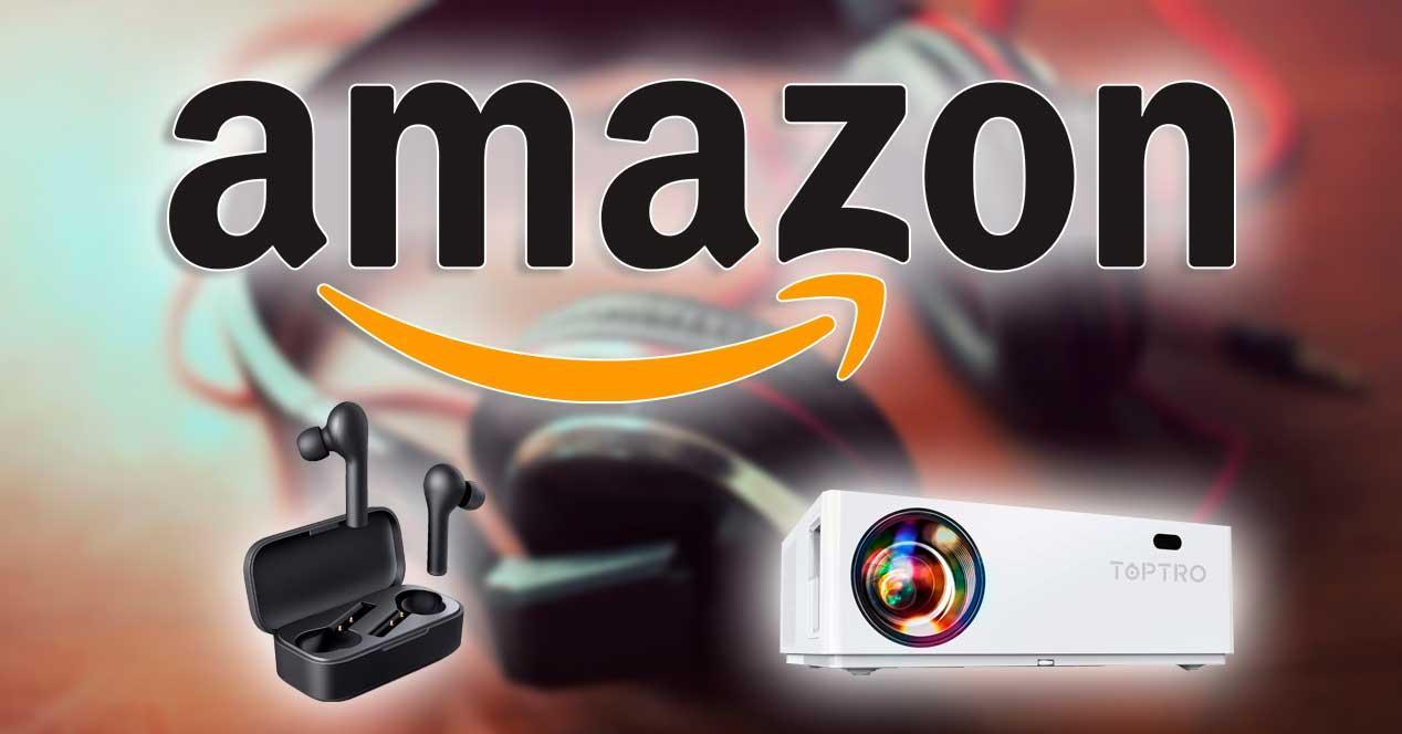 amazon ofertas auriculares proyectores