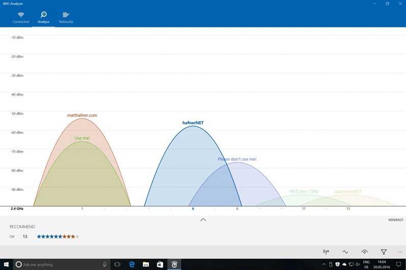 Analizador WiFi