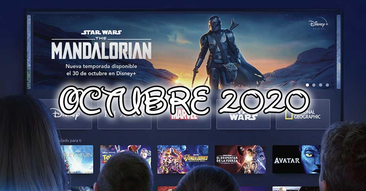 estrenos disney plus octubre 2020