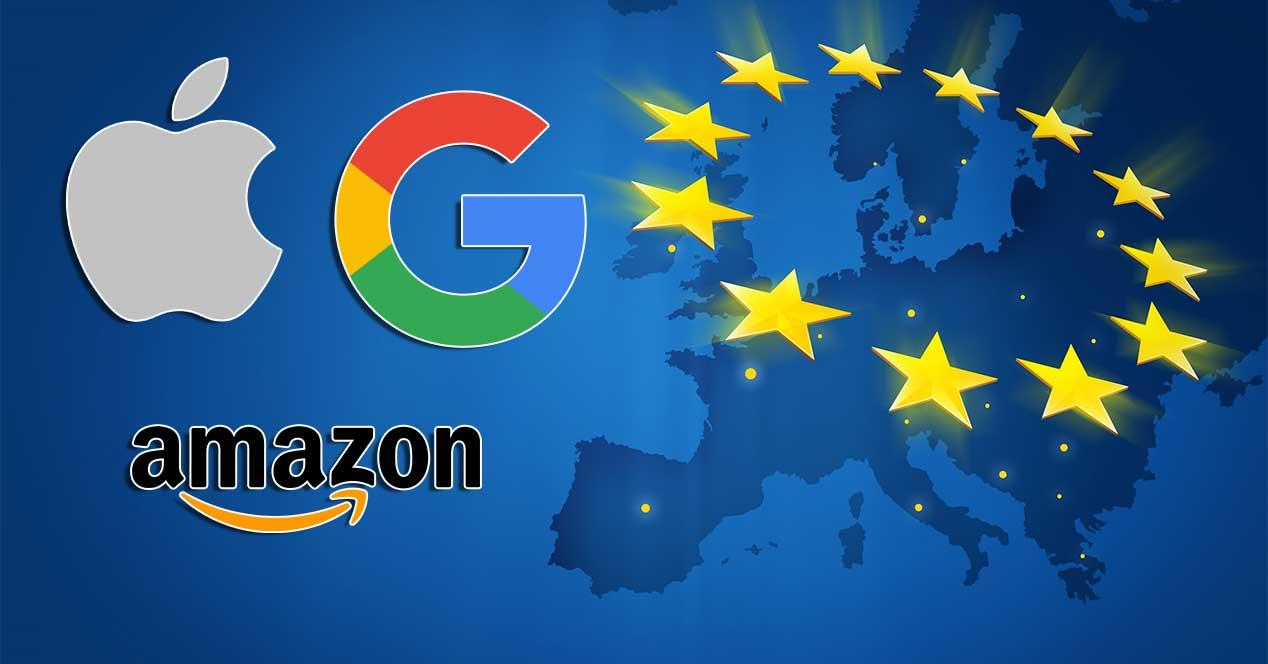 google apple amazon ue impuestos