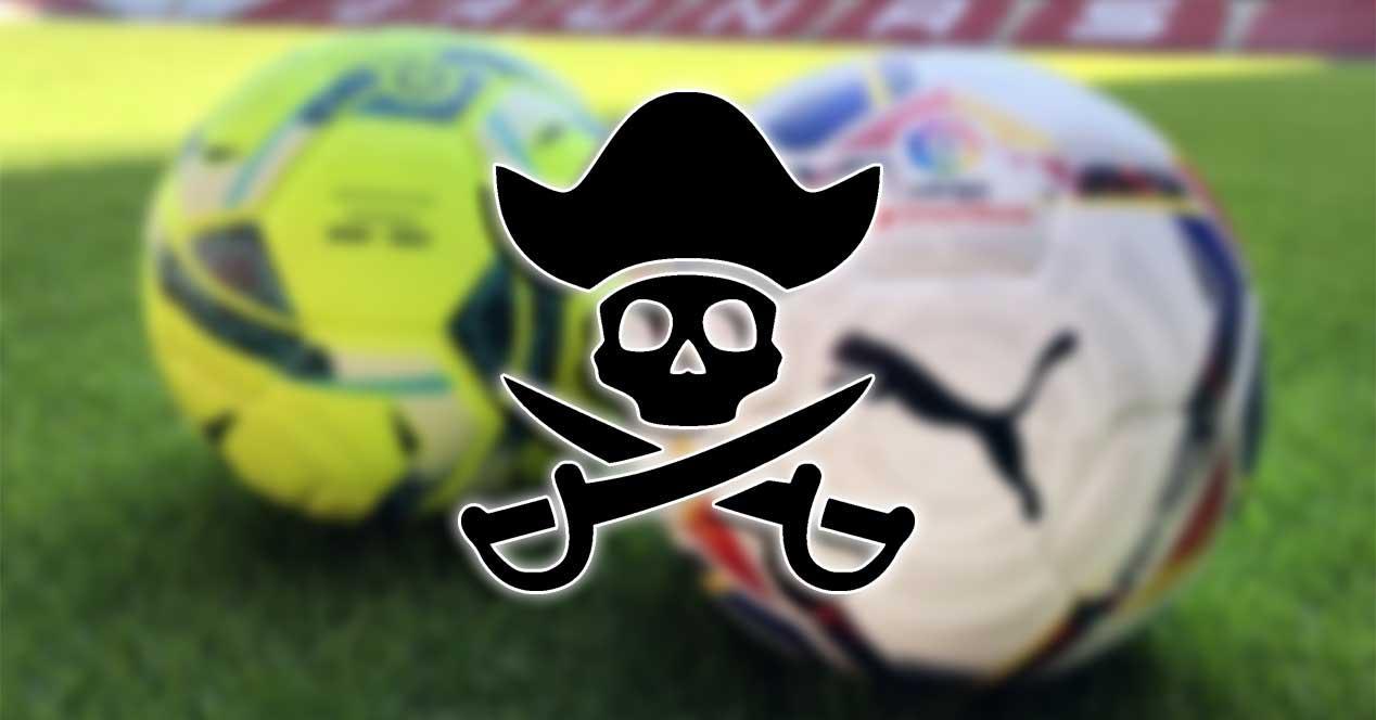 laliga pirateria